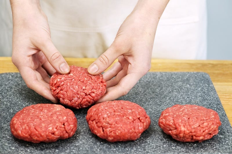 Forming the Beef Patty