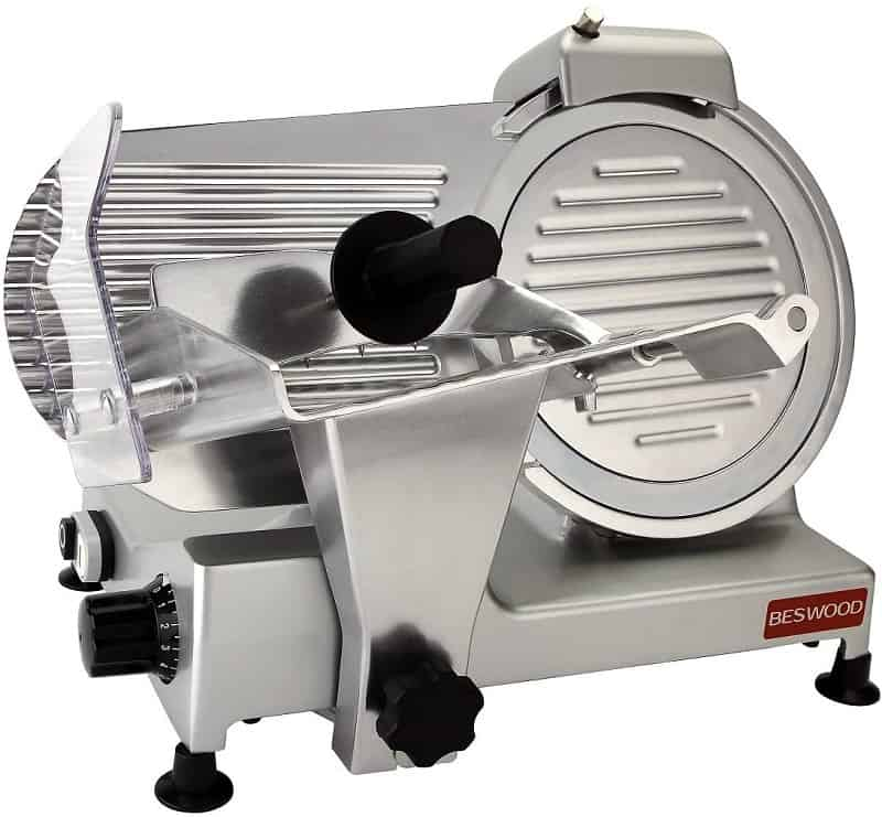 Beswood Chromium-Plated Meat Slicer